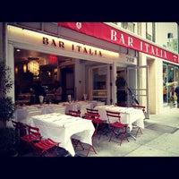 Photo taken at Bar Italia by Kate K. on 9/29/2012