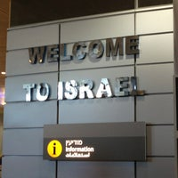 Photo taken at Ben Gurion International Airport (TLV) by Tony L. on 4/15/2013