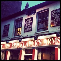 Photo taken at The Bricklayer's Arms by Marcello T. on 4/6/2014