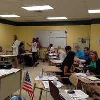 Photo taken at Nikki Rowe High School by TFA_RGV O. on 9/21/2013