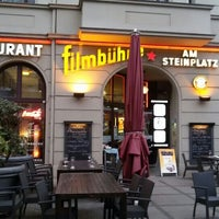 Photo taken at Café Filmbühne am Steinplatz by Pierre on 4/25/2015