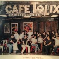 Photo taken at CAFE TOLIX by Manuel L. on 6/20/2013