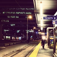 Photo taken at Nicollet Mall LRT Station by Kelly D. on 11/12/2012