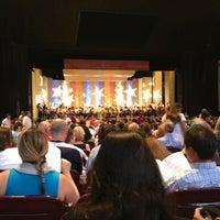 Photo taken at Miller Outdoor Theatre by Liz G. on 7/5/2013