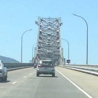 Photo taken at Richmond-San Rafael Bridge by Stephanie S. on 5/18/2013