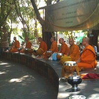 Photo taken at Wat Chonprathan Rangsarit by Frankkissme on 12/31/2012