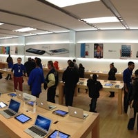 Photo taken at Apple Southdale by Lincoln P. on 3/24/2013