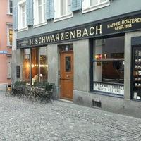 Photo taken at Teecafé Schwarzenbach by André M. on 10/27/2016