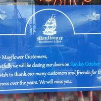Photo taken at Mayflower Restaurant & Pub by Winston A. on 10/27/2013