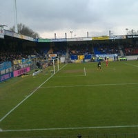 Photo taken at Mandemakers Stadion by Thijs B. on 3/3/2013