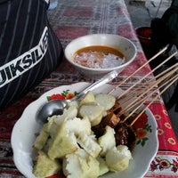 Photo taken at dagang sate ayam by nax k. on 8/21/2014