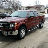 Photo taken at Luther Family Ford by George H. on 12/21/2014