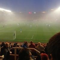Photo taken at Riverside Stadium by James N. on 11/24/2012