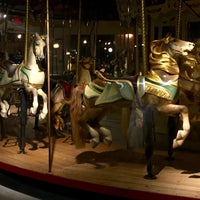 Photo taken at Congress Park Carousel by Casey D. on 12/13/2015