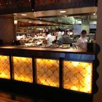 Photo taken at Grand Lux Café by Dwayne on 10/27/2012