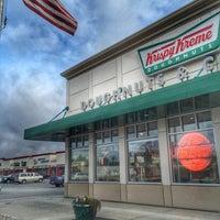Photo taken at Krispy Kreme Doughnuts by Spencer S. on 3/23/2016