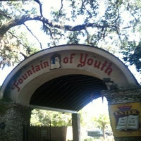 Photo taken at The Fountain Of Youth Archaeological Park by Mindy B. on 10/14/2012