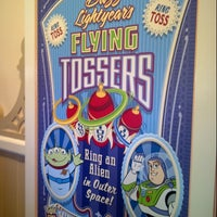 Photo taken at Toy Story Midway Mania! by Richard K. on 3/2/2013