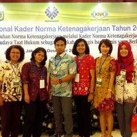 Photo taken at Kementerian Tenaga Kerja dan Transmigrasi RI by WINTI W. on 12/1/2015