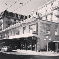 Photo taken at Hôtel Helvetie by Hesham W. on 4/15/2014