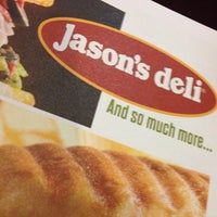 Photo taken at Jason's Deli by Arwin S. on 1/31/2014