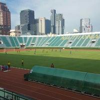 Photo taken at Supachalasai Stadium by Gunn Z. on 7/21/2016