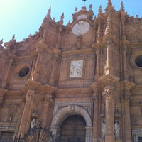 Photo taken at Catedral de Guadix by Ivan A. on 5/31/2013