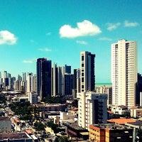Photo taken at Boa Viagem by Fábio M. on 9/11/2013