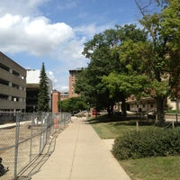 Photo taken at Bolz Hall (BO) by Manuel B. on 9/1/2013