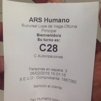 Photo taken at ARS Humano by Clara B. on 2/6/2015