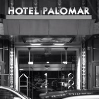 Photo taken at Kimpton Hotel Palomar Philadelphia by John F. on 1/27/2013