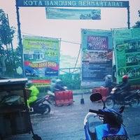 Photo taken at Bunderan Cibiru by Adya D. on 12/19/2013
