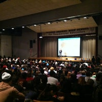 Photo taken at NYU Norman Thomas Center by Joe G. on 1/5/2013