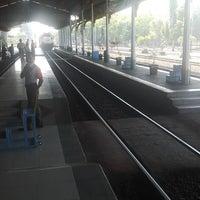 Photo taken at Stasiun Jombang by erwin b. on 8/27/2013