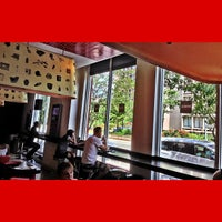 Photo taken at Aroma Espresso Bar by Anthony L. on 7/4/2013