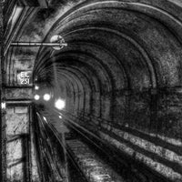 Photo taken at Wapping London Overground Station by Jonny W. on 6/1/2014