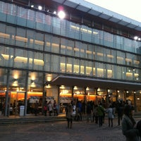 Photo taken at Shibuya Public Hall by kosuke t. on 12/8/2012