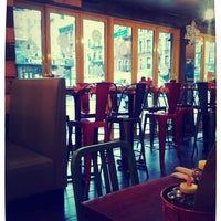 Photo taken at Bareburger by Rita L. on 12/8/2012