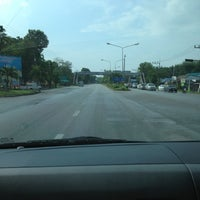 Photo taken at Khao Chaison Intersection by 🐾_MOM_😍😘😘 on 12/13/2012