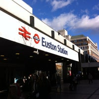 Photo taken at London Euston Railway Station (EUS) by Kimberley B. on 11/3/2012