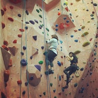 Photo taken at Earth Treks Climbing Center by Veronica R. on 11/22/2015