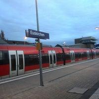 Photo taken at Bahnhof Euskirchen by KURT S. on 12/9/2013