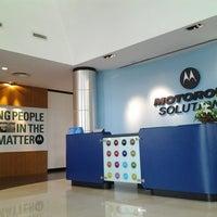Photo taken at Motorola Solutions Malaysia Sdn Bhd by Nursyuhaida on 8/14/2013