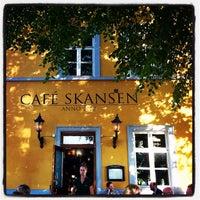 Photo taken at Café Skansen by Geir O. on 9/3/2014