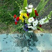 Photo taken at Oak Ridge Cemetery by Shann E. on 5/25/2012