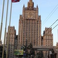 Photo taken at Смоленская-Сенная площадь by PapaCarlo on 5/16/2012