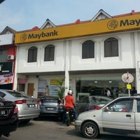 Photo taken at Maybank by Yang C. on 11/1/2013