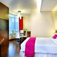 Photo taken at favehotel MEX Surabaya by favehotel MEX Surabaya on 8/22/2014