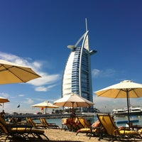 Photo taken at Jumeirah Beach Hotel by Simona R. on 2/8/2013