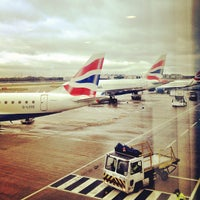 Photo taken at London City Airport (LCY) by Rory C. on 10/25/2012